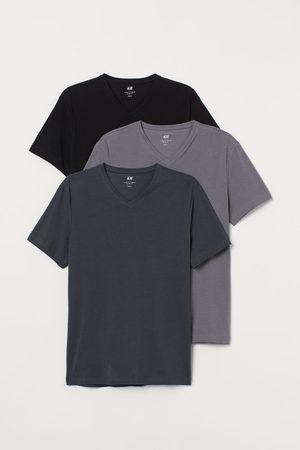 H&M Pack de 3 camisetas Slim Fit