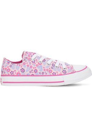 """adidas   Niña Sneakers """"chuck Taylor"""" Con Estampado Floral 10.5"""