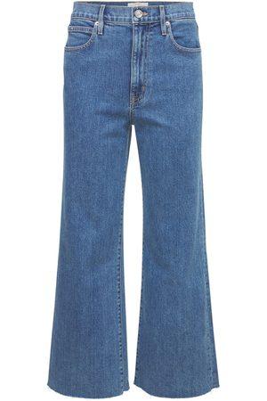 "adidas   Mujer Jeans Anchos Cropped ""grace"" Con Cintura Alta 24"