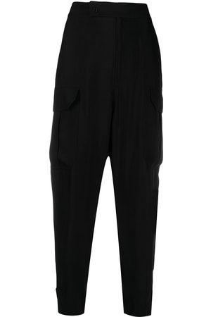 adidas Mujer Pantalones de talle alto - Pantalones de talle alto ajustados