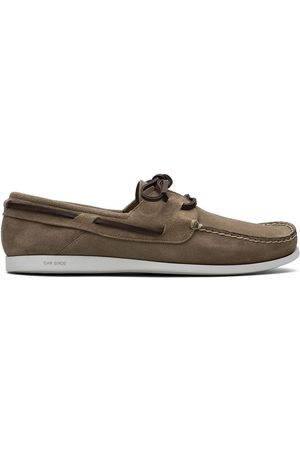 adidas Lace-up suede boat shoes