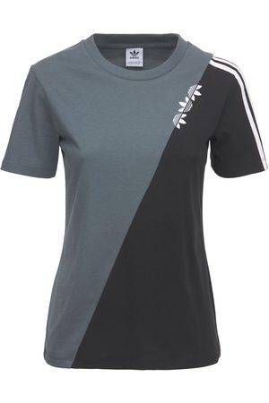 adidas   Mujer Camiseta Regular Fit /azul 36