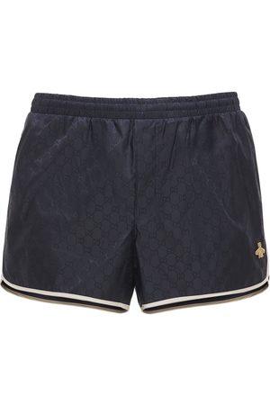 adidas   Hombre Bañador Shorts De Nylon Con Parche De Abeja Y Gg 44