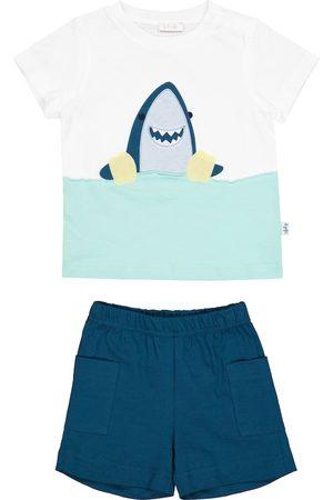 adidas Pantalones cortos - Bebé - set de camiseta y shorts