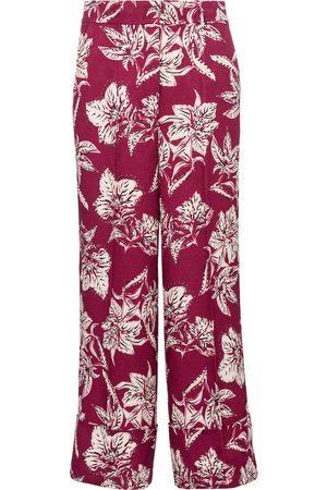 adidas Mujer Pantalones anchos y harén - Pantalones Structured Florals