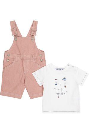 adidas Bebé - set de mono y camiseta
