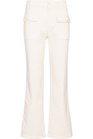 adidas Mujer Cintura alta - Jeans cropped de tiro medio
