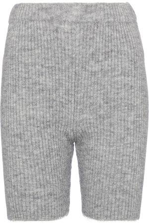 adidas Mujer Pantalones cortos - Exclusivo en Mytheresa - shorts ciclistas Siu de punto acanalado