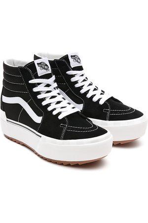 adidas Zapatillas De Ante Y Lona Sk8-hi Stacked