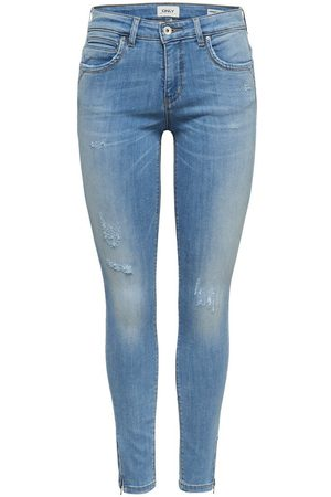 Only KENDELL REG ANKLE ZIP JEANS SKINNY FIT