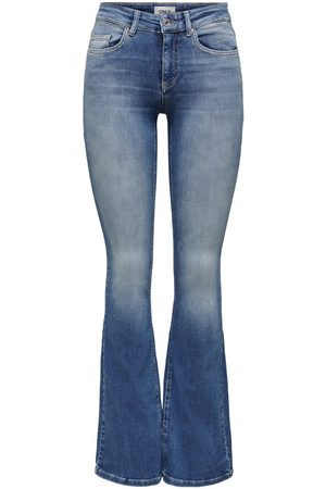 Only ONLBLUSH LIFE MID FLARED JEANS DE CAMPANA