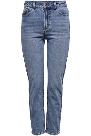 Only Mujer Cintura alta - ONLEMILY LIFE HW ANKLE JEANS STRAIGHT FIT