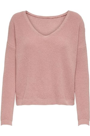 Only Mujer Jerséis y suéteres - REVERSIBLE KNITTED PULLOVER