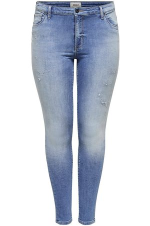Only CURVY CARCARMA LIFE REG ANKLE JOGG JEANS SKINNY FIT