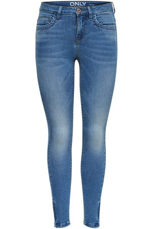Only ONLROYAL HIGHKENDELL ANKLE ZIP JEANS SKINNY FIT
