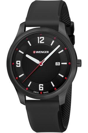 Wenger Reloj analógico 01.1441.111, Quartz, 43mm, 3ATM para hombre