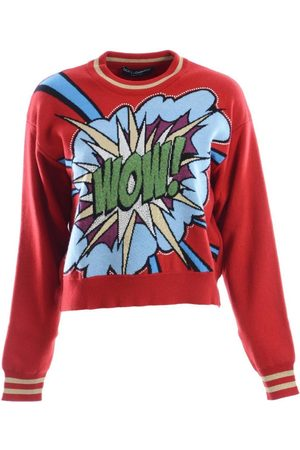 Dolce and Gabbana Jersey Women Cashmere Crewneck Pullover para mujer