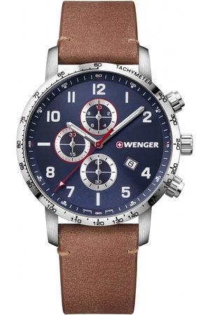 Wenger Reloj analógico 01.1543.108, Quartz, 44mm, 10ATM para hombre
