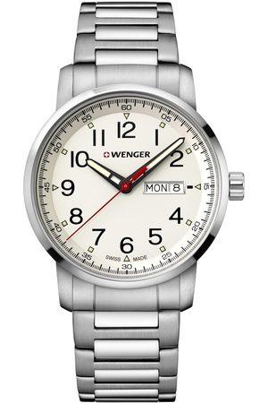 Wenger Reloj analógico 01.1541.108, Quartz, 42mm, 10ATM para hombre