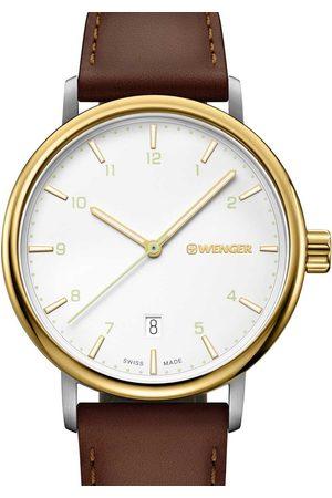 Wenger Reloj analógico 01.1731.118, Quartz, 40mm, 10ATM para hombre