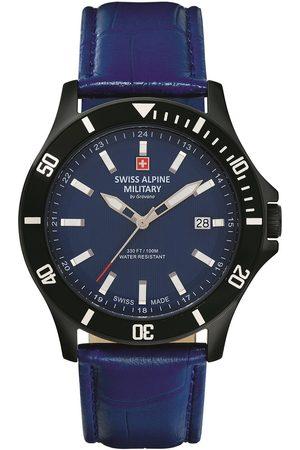 Swiss Alpine Military Reloj analógico 70.221.575, Quartz, 42mm, 10ATM para hombre