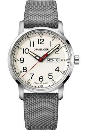Wenger Reloj analógico 01.1541.106, Quartz, 42mm, 10ATM para hombre
