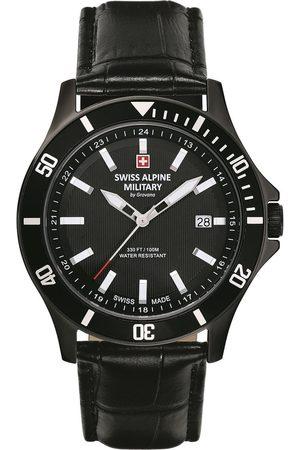 Swiss Alpine Military Reloj analógico 70.221.577, Quartz, 42mm, 10ATM para hombre