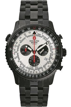 Swiss Alpine Military Reloj analógico 70.789.172, Quartz, 46mm, 10ATM para hombre