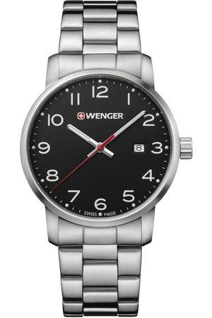Wenger Reloj analógico 01.1641.102, Quartz, 42mm, 10ATM para hombre