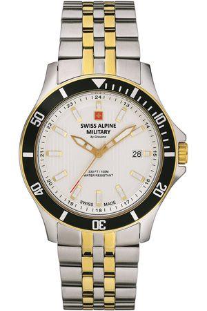Swiss Alpine Military Reloj analógico 70.221.142, Quartz, 42mm, 10ATM para hombre