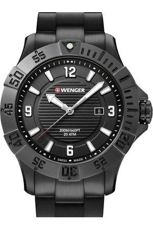 Wenger Reloj analógico 01.0641.135, Quartz, 43mm, 20ATM para hombre