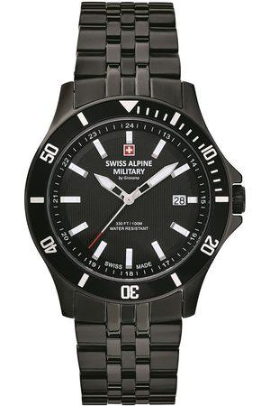 Swiss Alpine Military Reloj analógico 70.221.177, Quartz, 42mm, 10ATM para hombre
