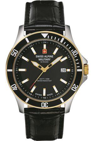Swiss Alpine Military Reloj analógico 70.221.547, Quartz, 42mm, 10ATM para hombre