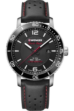 Wenger Reloj analógico 01.1841.101, Quartz, 44mm, 10ATM para hombre