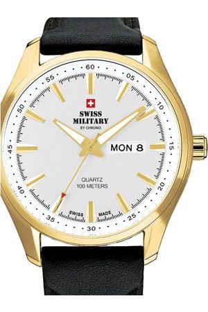 CHRONO Reloj analógico SM34027.08, Quartz, 44mm, 10ATM para hombre