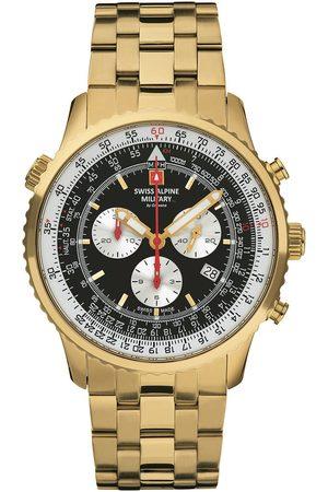 Swiss Alpine Military Reloj analógico 70.789.117, Quartz, 46mm, 10ATM para hombre