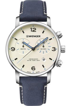 Wenger Reloj analógico 01.1743.119, Quartz, 44mm, 10ATM para hombre