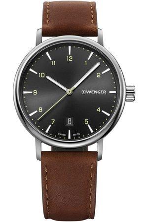 Wenger Reloj analógico 01.1731.115, Quartz, 40mm, 10ATM para hombre