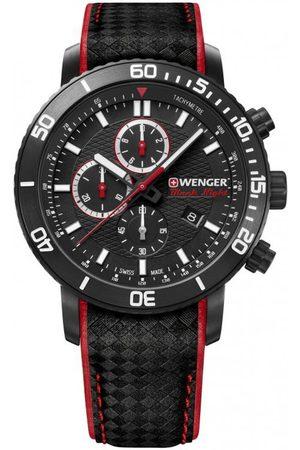 Wenger Reloj analógico 01.1843.109, Quartz, 45mm, 10ATM para hombre