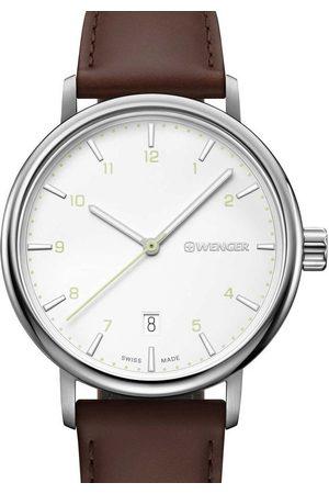 Wenger Reloj analógico 01.1731.117, Quartz, 40mm, 10ATM para hombre