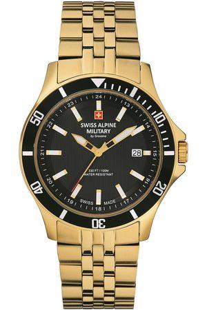 Swiss Alpine Military Reloj analógico 70.221.117, Quartz, 42mm, 10ATM para hombre