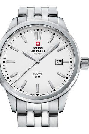 CHRONO Reloj analógico SMP36009.02, Quartz, 41mm, 5ATM para hombre