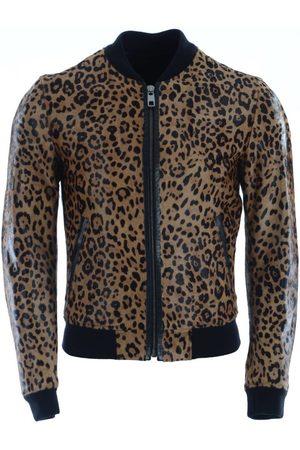 Dolce and Gabbana Cazadora Men Leather Jacket para hombre