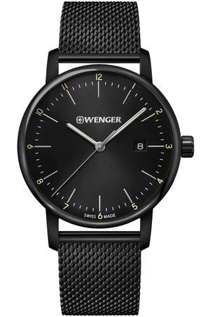 Wenger Reloj analógico 01.1741.137, Quartz, 42mm, 10ATM para hombre