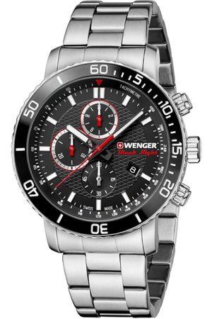 Wenger Reloj analógico 01.1843.106, Quartz, 45mm, 10ATM para hombre