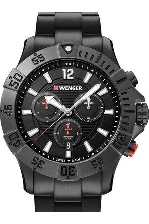 Wenger Reloj analógico 01.0643.121, Quartz, 43mm, 20ATM para hombre