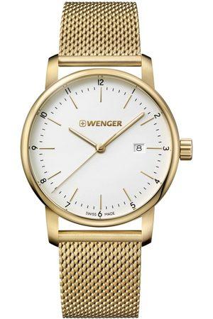 Wenger Reloj analógico 01.1741.112, Quartz, 42mm, 10ATM para hombre