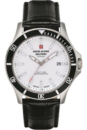 Swiss Alpine Military Reloj analógico 7022.1532, Quartz, 42mm, 10ATM para hombre