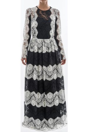 Dolce and Gabbana Vestido largo Women Lace Long Dress para mujer