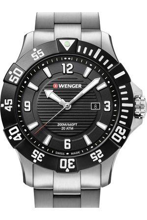 Wenger Reloj analógico 01.0641.131, Quartz, 43mm, 20ATM para hombre